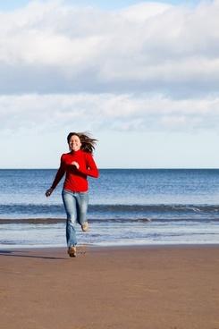 beach female fit