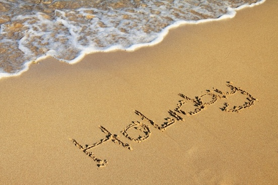 beach golden holiday