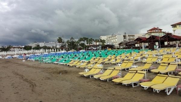beach holiday empty