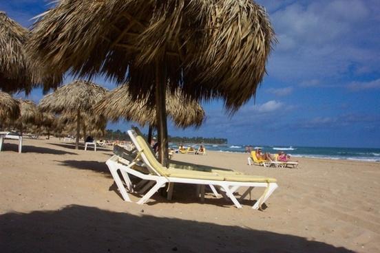 beach holiday parasol holiday