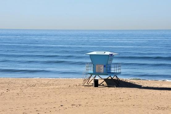 beach huntington pacific