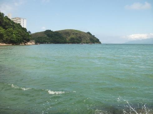 beach praia pedra