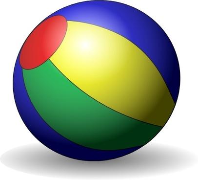 Beachball V clip art