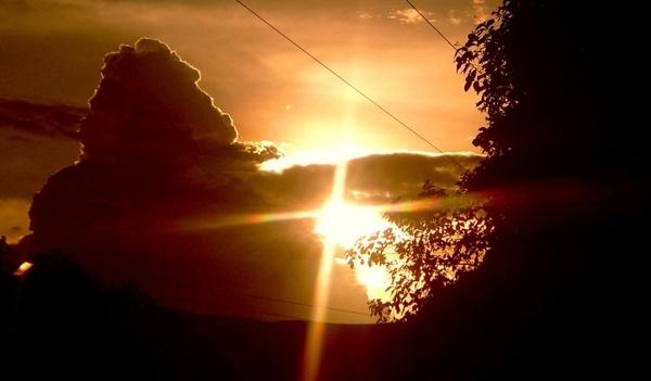 beam the indian beautiful sunset