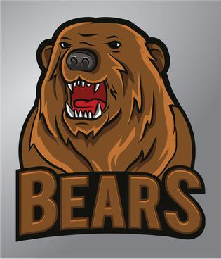 bears logo vector