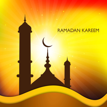 beautiful arabic islamic ramadan kareem colorful vector