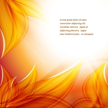 beautiful autumn leaf background 04 vector