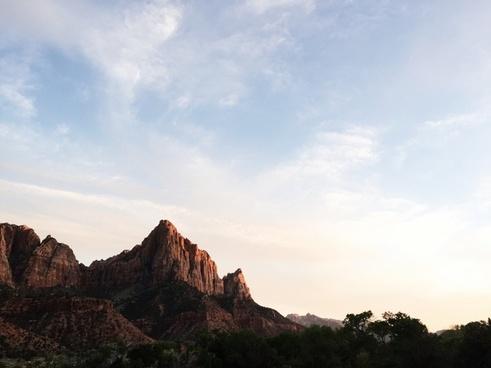 beautiful blue sky canyon cloud desert geology
