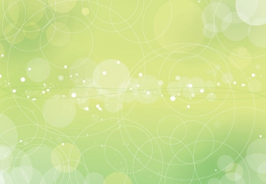Beautiful Bokeh Vector Background