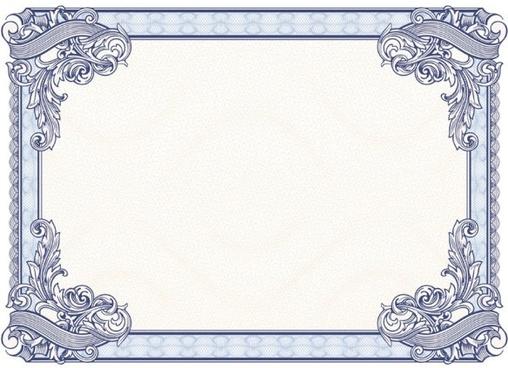 beautiful border pattern background 02 vector