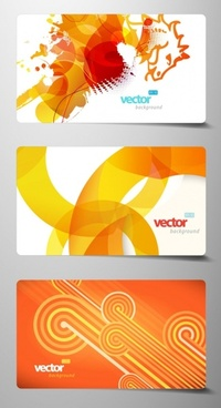 beautiful card 02 vector