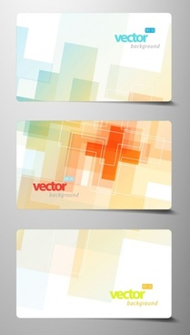 beautiful card template 03 vector