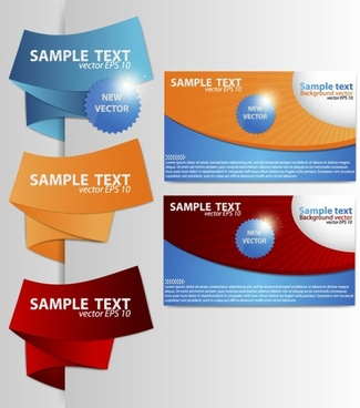 beautiful card template 06 vector