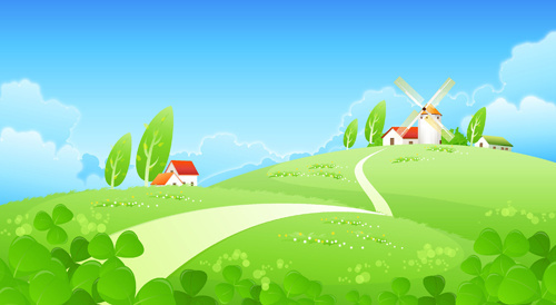 cartoon landscape free vector download 17 104 free vector for