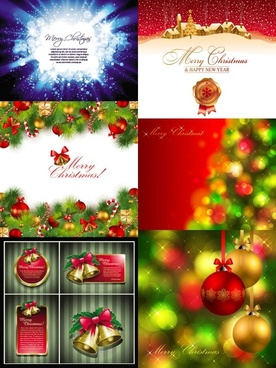 beautiful christmas background vector vector