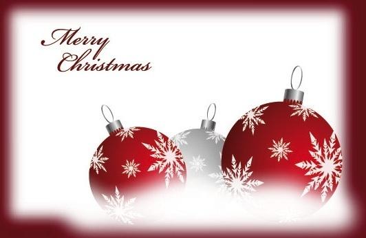 beautiful christmas ball 05 vector