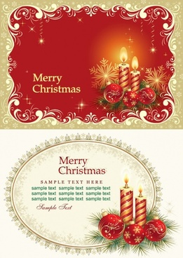 Merry christmas card 2017 free vector download 17967 free vector beautiful christmas cards vector m4hsunfo