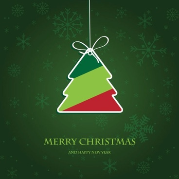 beautiful christmas label 02 vector