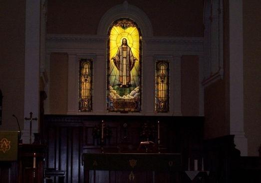 beautiful church stained windows