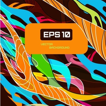 beautiful color line patterns 04 vector