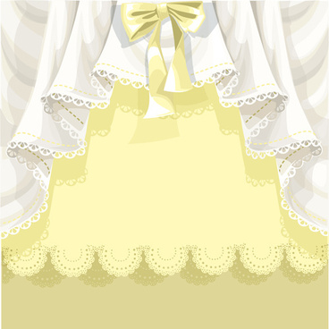 beautiful curtain vector background