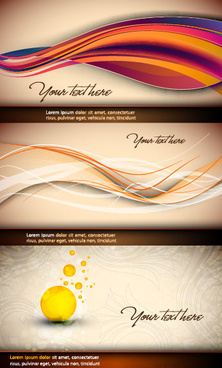 beautiful curve design vector