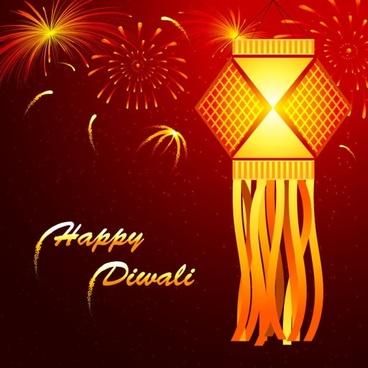 beautiful diwali cards 02 vector