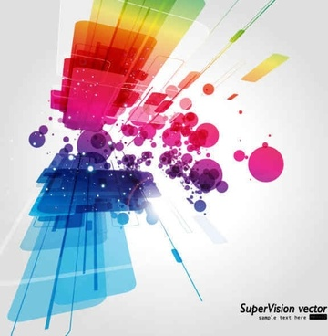 Beautiful dynamic vector background