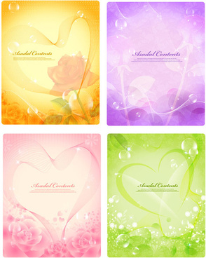 beautiful fantasy background vector