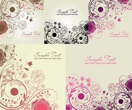 beautiful fashion pattern vector
