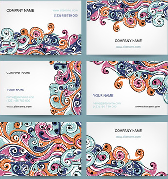 beautiful floral card vector