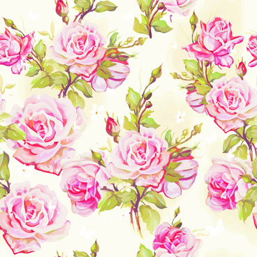 beautiful floral patterns vector ser
