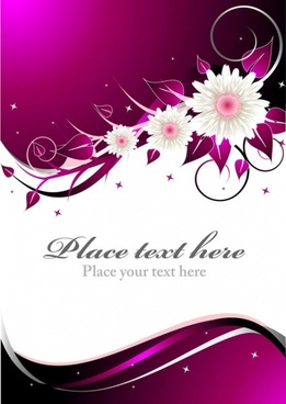 Beautiful Floral Wedding Background Eps Free Vector Download