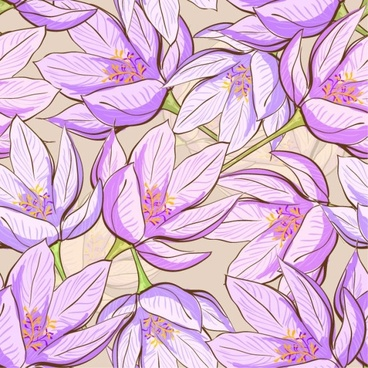 beautiful flower background 05 vector