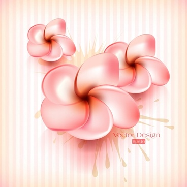 frangipani petals background bright shiny modern design