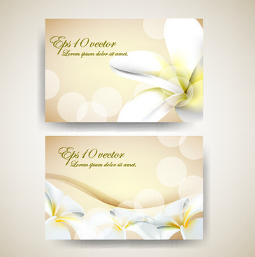 Business card flower shop free vector download 32803 free vector beautiful flowers business cards vector reheart Image collections