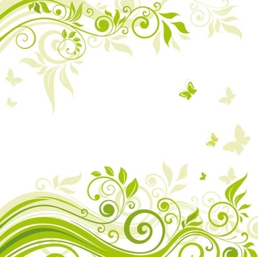 beautiful flowers illustration background 02 vector