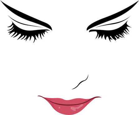 Beautiful Face Free Vector Download 12 079 Free Vector For