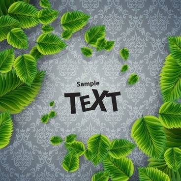beautiful green background 05 vector