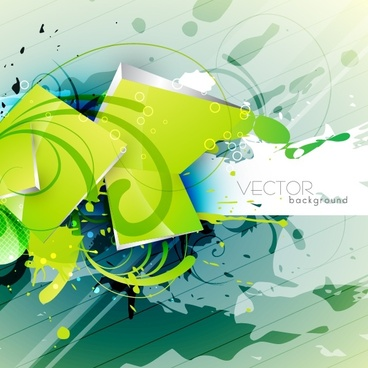 beautiful green texture background vector