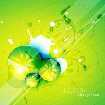 beautiful green texture vector
