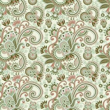 decorative pattern traditional classical flat floral decor