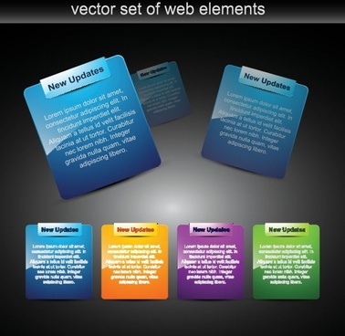 beautiful interface vector