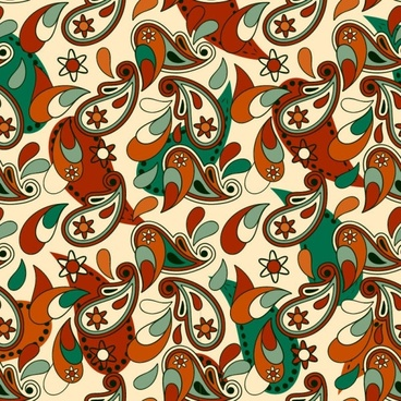 beautiful pattern background 01 vector