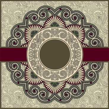 The Best Vector Background Batik Merah