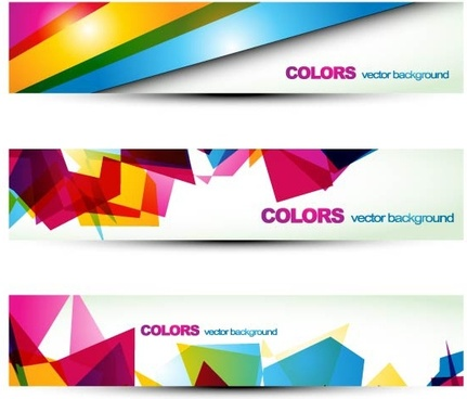 beautiful pattern banner 06 vector