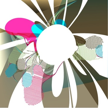 beautiful pattern color pattern 04 vector