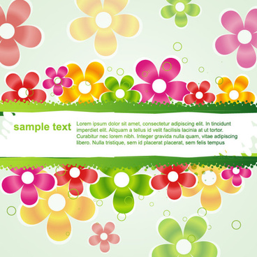 beautiful petal background free vector