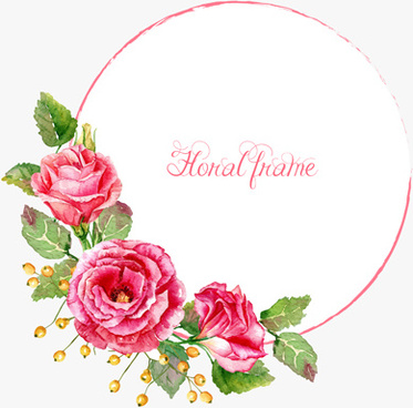 beautiful pink flower vector art background
