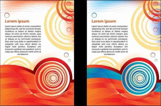 simple brochure background design free vector download 50 830 free
